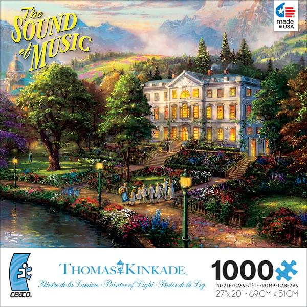 Thomas Kinkade WB Movie Classics: The Sound of Music 1000 Piece Puzzle