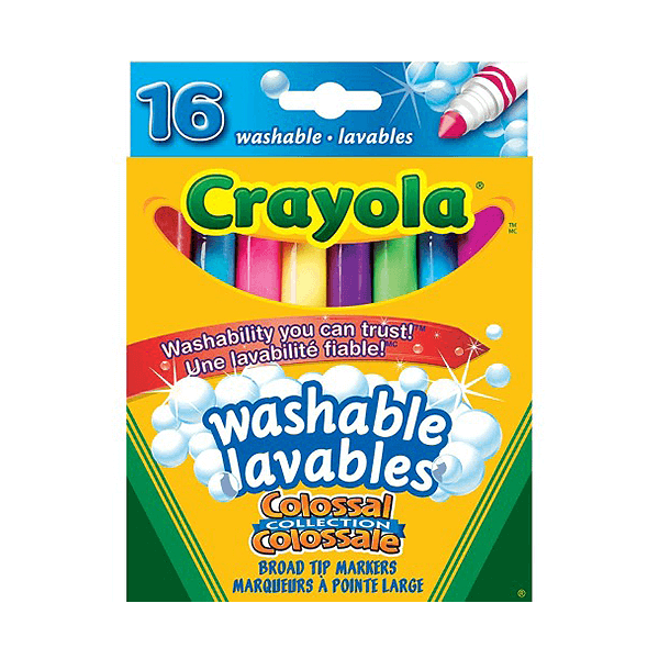 Crayola Broad Tip Markers 16 Count