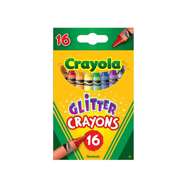 Crayola Glitter Crayons 16 Count