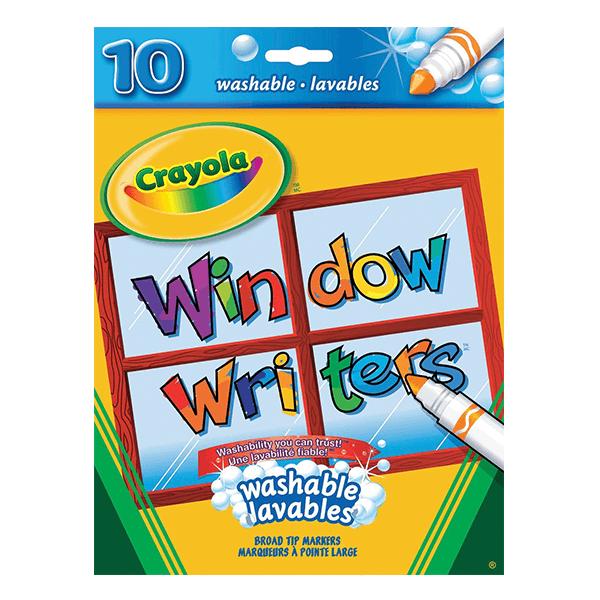 Crayola Window Writers 10 Count