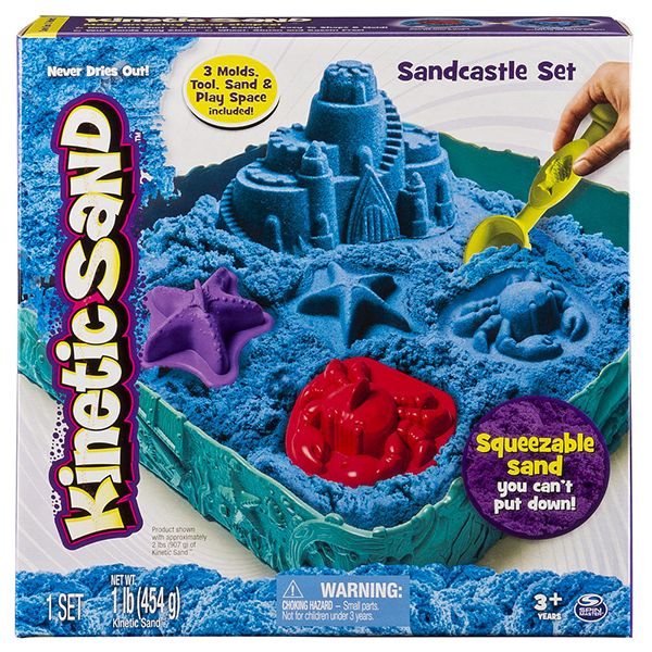 Discontinued Kinetic Sand Castle 1 Lb Assorted Pack