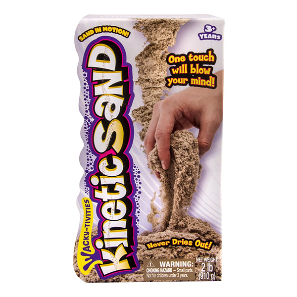 Kinetic Sand Brown 2 Lb Pack