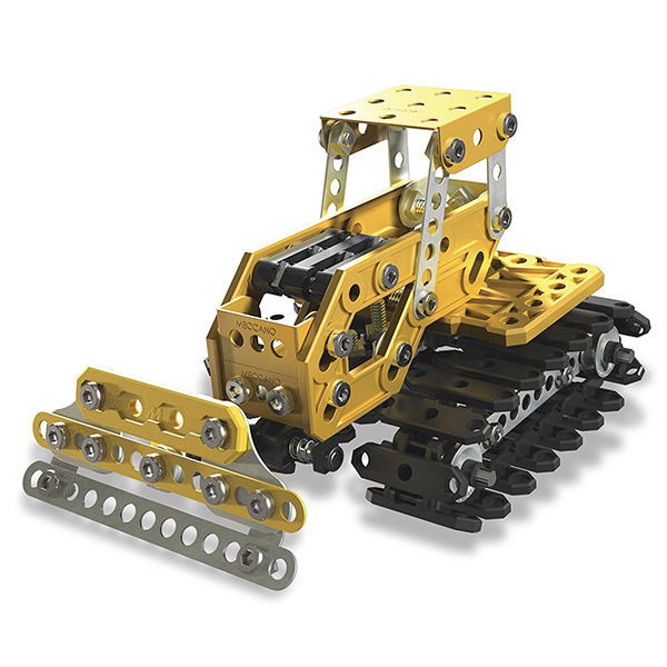 Meccano 2 in 1 Excavator and Bulldozer Set