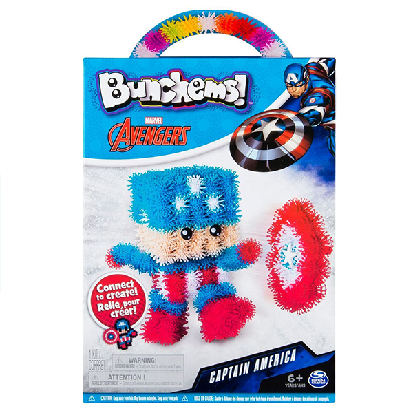 Bunchems Marvel Captain America Set