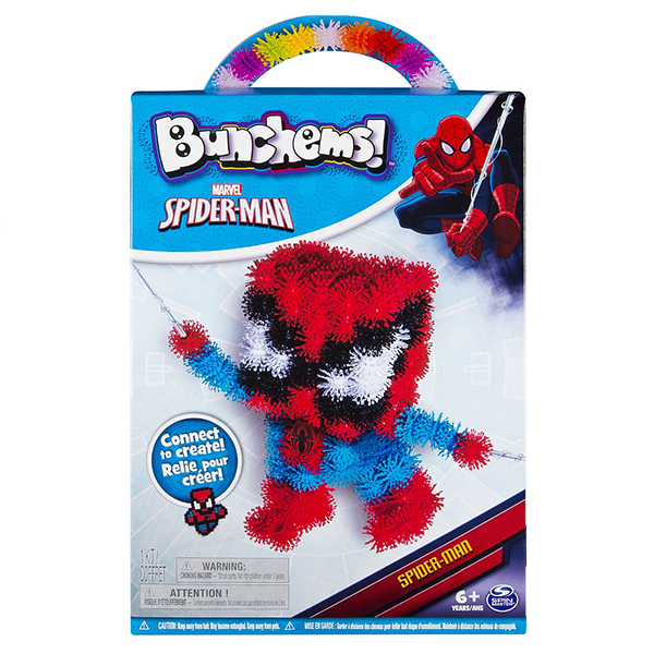 Bunchems Marvel Spiderman Set