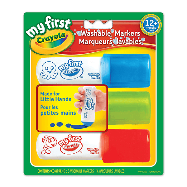 Discontinued Crayola My First Easy Grip Markers