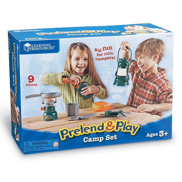 Learning Resources Pretend and Play Camp Set