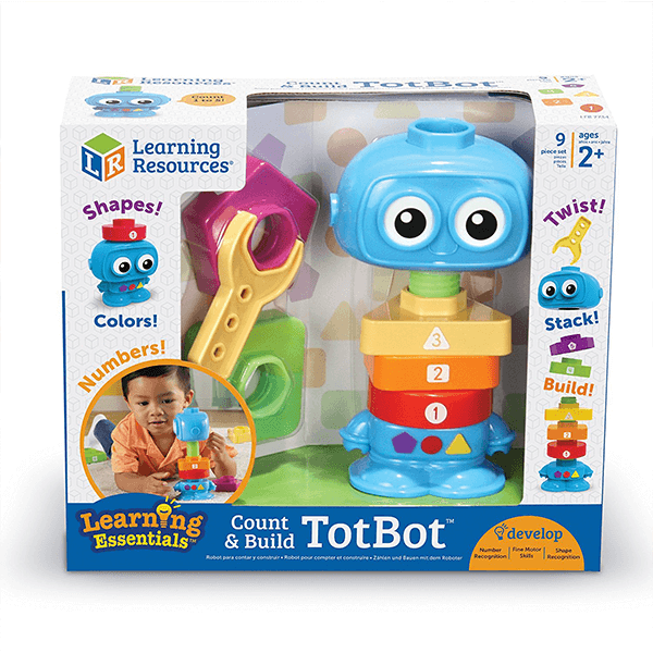 Learning Resources Count and Build TotBot