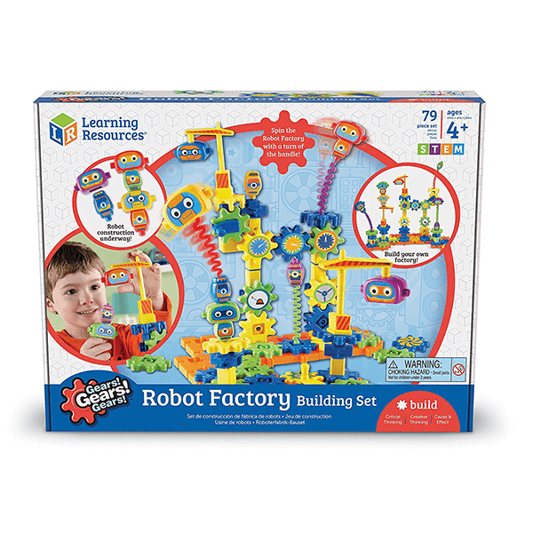Learning Resources Gears! Robot Factory Set