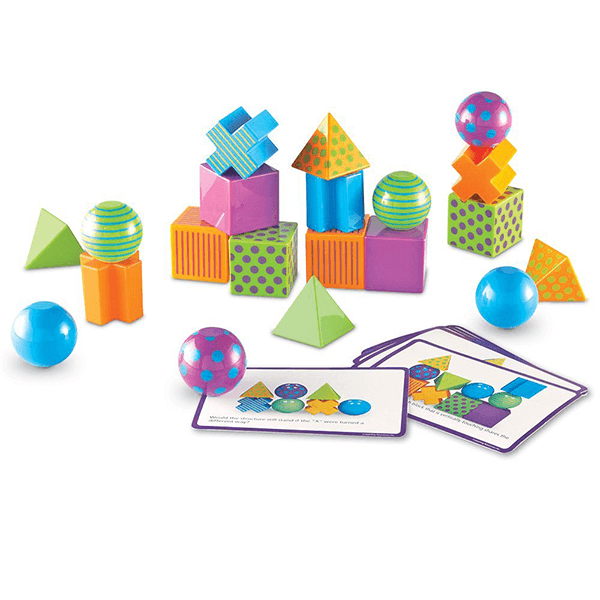 Learning Resources Mental Blox 3-D Puzzle Game