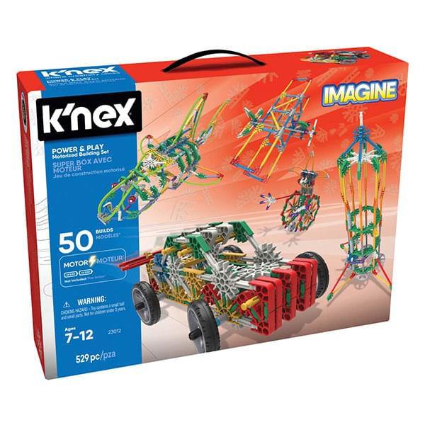 K'NEX Imagine Power & Play Motorized Building Set
