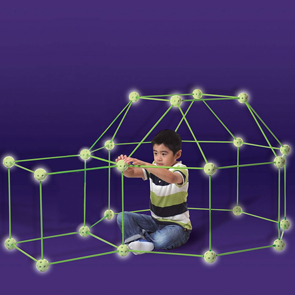 Discontinued Crazy Forts Glow-in-the-Dark Construction Playset