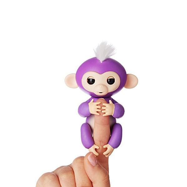 WowWee Fingerlings Baby Monkey Purple