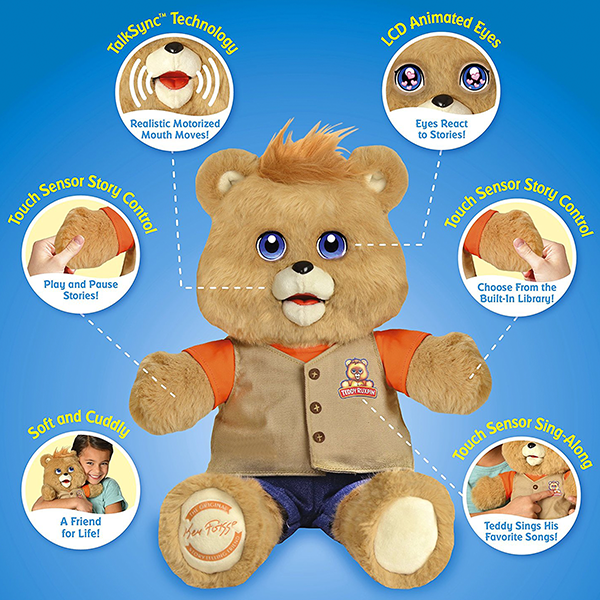 Discontinued Teddy Ruxpin