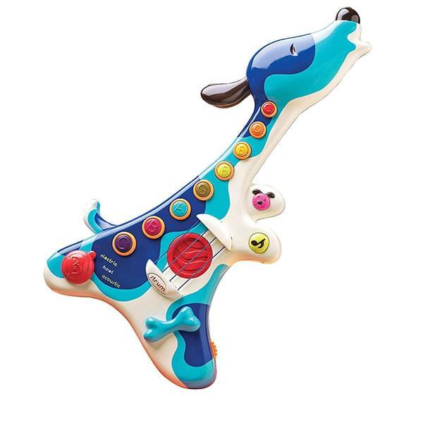 B. Toys B. Woofer Hound Dog Guitar