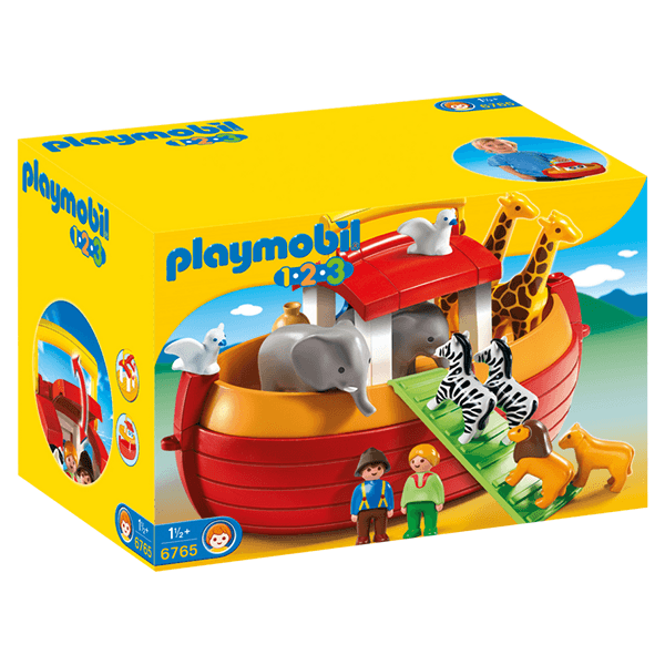Playmobil 1.2.3 My Take Along Noah's Ark Set