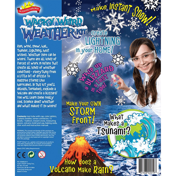 Alex Brands Wacky Weird Weather Kit