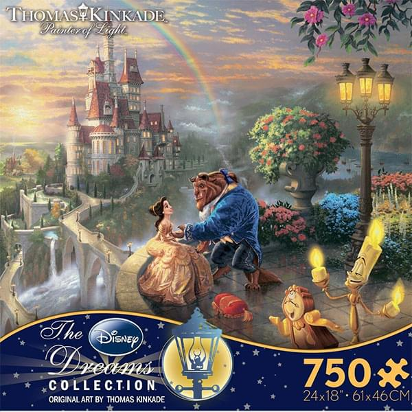 Ceaco Disney Beauty and the Beast 750 Piece Puzzle