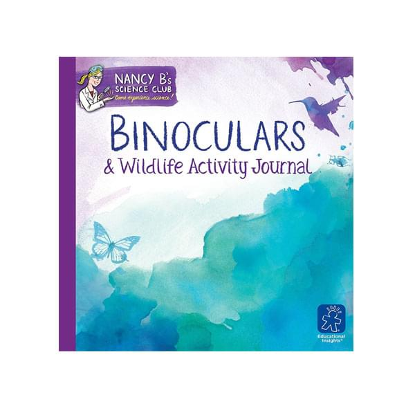 Educational Insights Nancy B Binoculars & Wildlife Journal