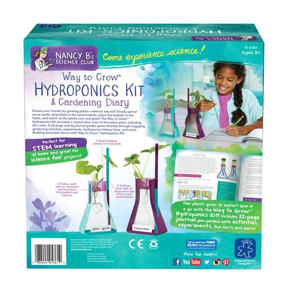Educational Insights Nancy B Way to Grow Hydroponics Kit