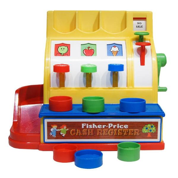 Discontinued Fisher Price Cash Register