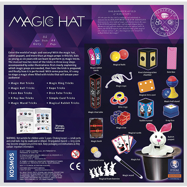 Discontinued Thames & Kosmos Magic Hat Set