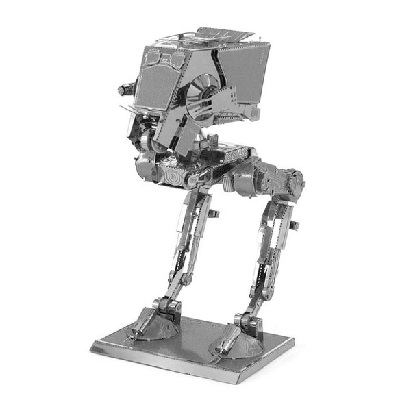 Discontinued Fascinations Metal Earth Star Wars AT-ST 3D Metal Model Kit
