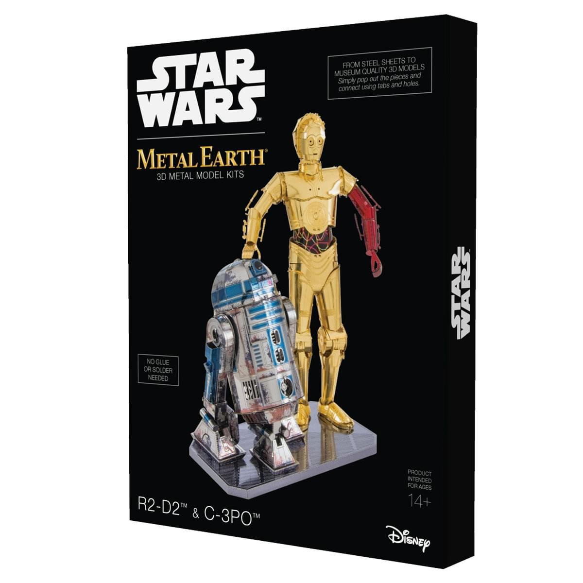 Fascinations Metal Earth Star Wars R2D2 & C3PO Gift Boxset