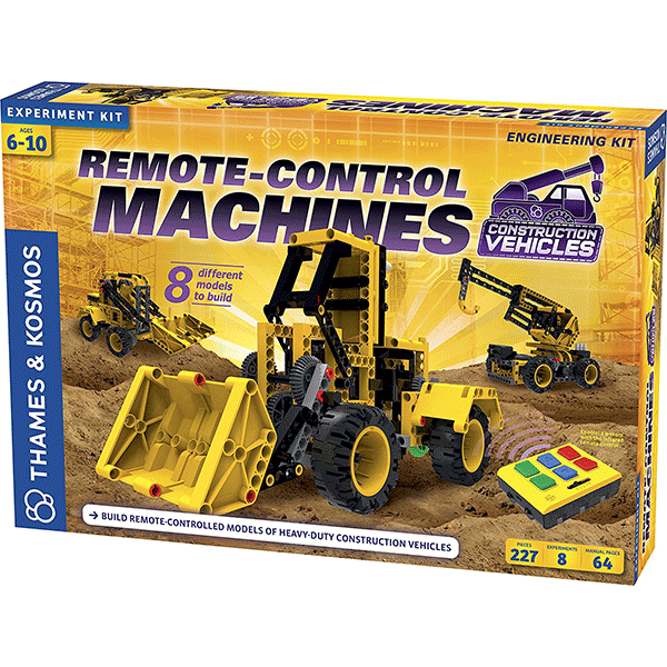 Thames & Kosmos Remote Control Machines: Construction Vehicles Kit