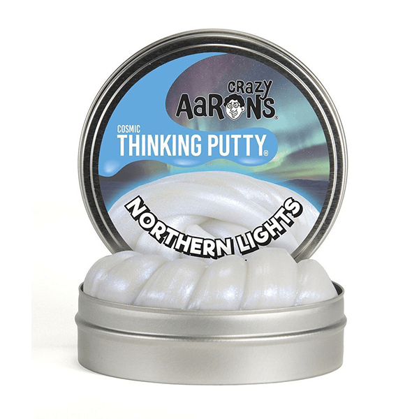 Crazy Aaron Northern Lights Cosmic Thinking Putty