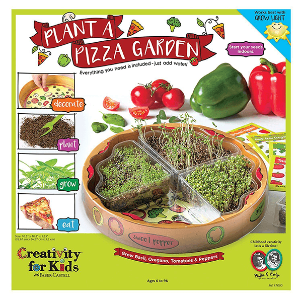 Creativity for Kids Plant Pizza Garden Kit