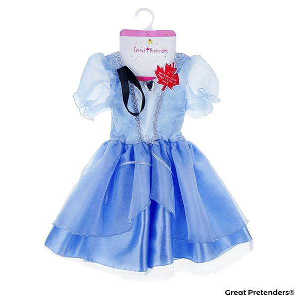 Great Pretenders Cinderella Tea Party Dress Size 5-6