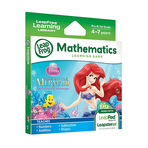 LeapFrog Mathematics Learning Game - The Little Mermaid