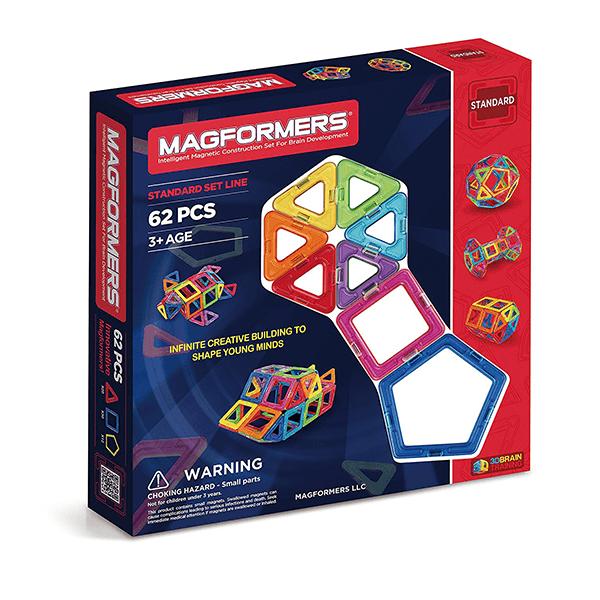 Magformers Rainbow Set (62 PCS)