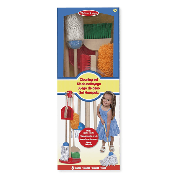 Melissa & Doug Lets Play House - Dust Sweep Mop Set