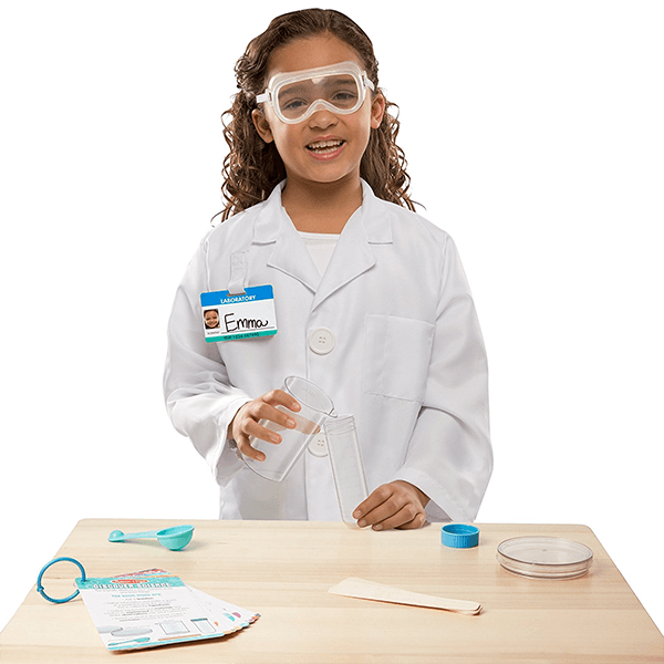 Melissa & Doug Scientist Role Play Costume Set
