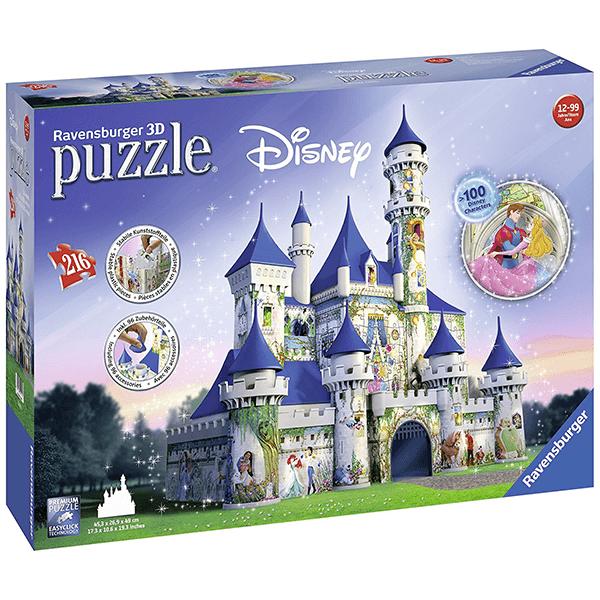 Ravensburger Disney Castle 3D Puzzle (216 Pieces)