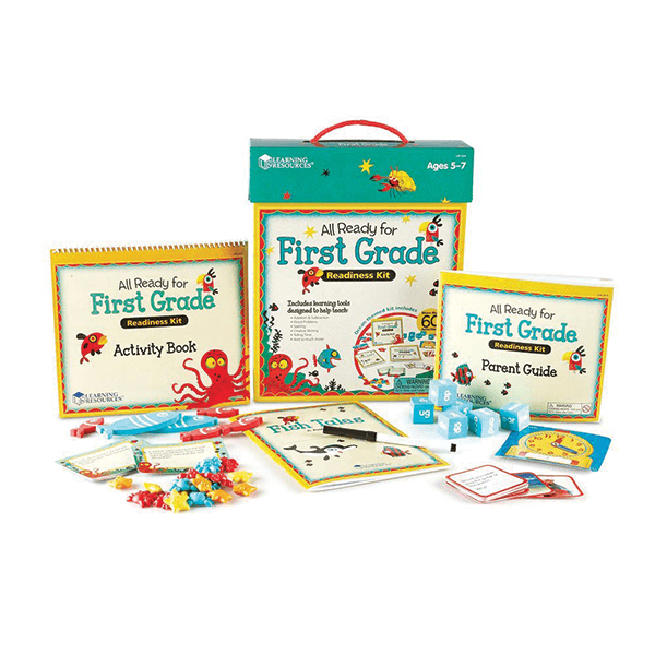 Learning Resources All Ready for First Grade Readiness Kit