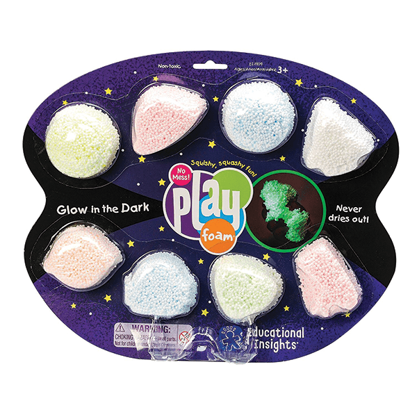 Educational Insights Playfoam Glow-in-the-Dark 8-Pack