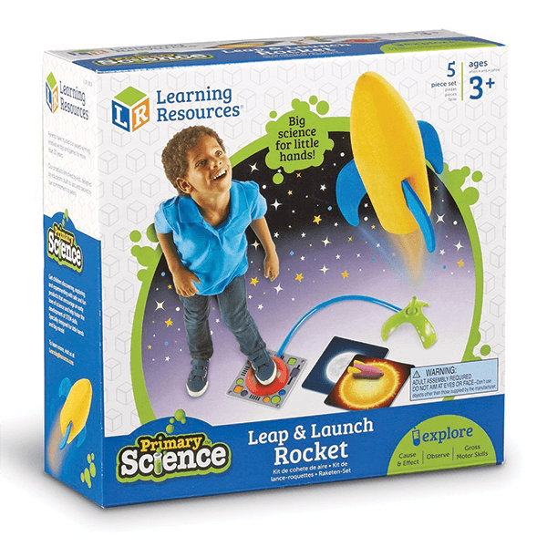 Learning Resources Primary Science Leap and Launch Rocket