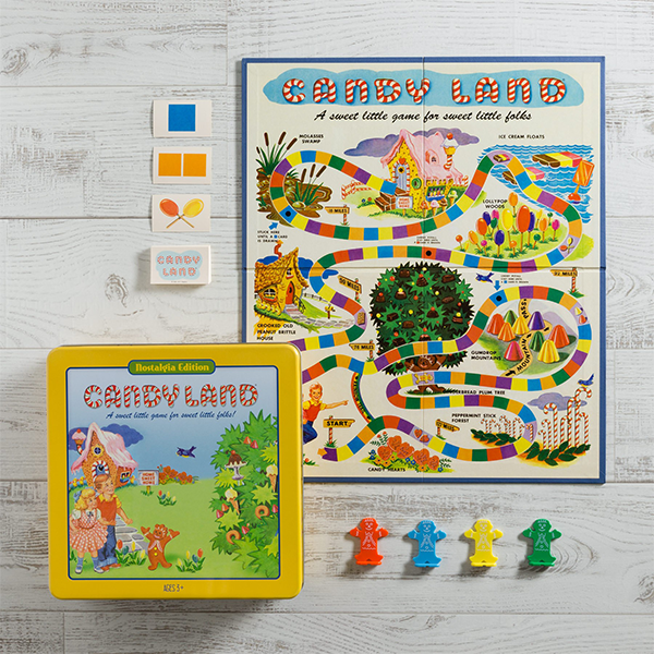 Candy Land Nostalgia Tin