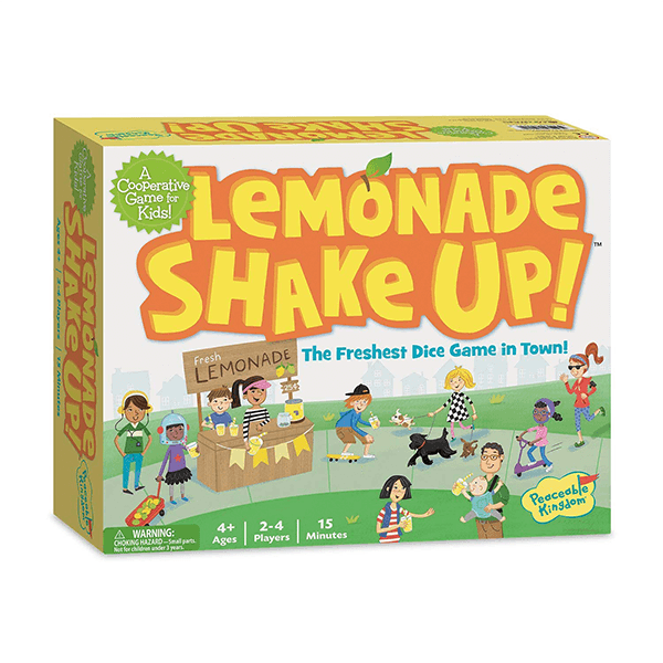 Peaceable Kingdom Lemonade Shake Up Dice Game