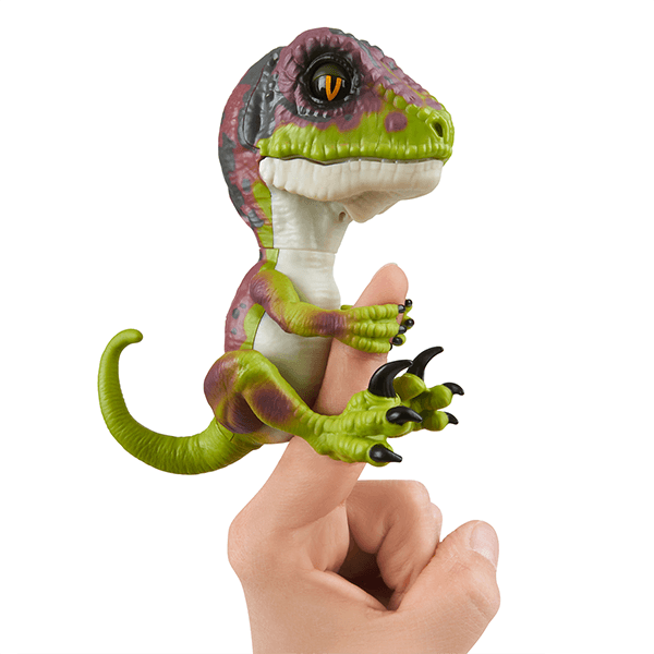 Fingerlings Untamed Baby Velociraptor Blaze Orange [CLONE]