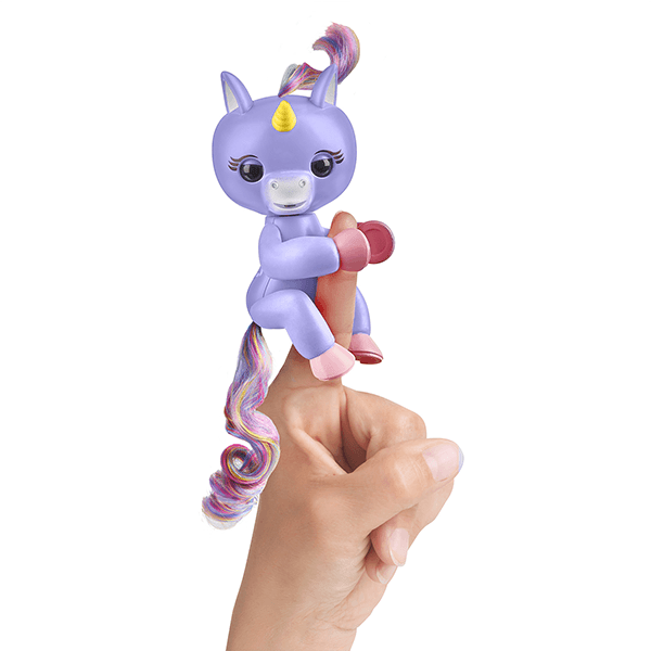 Fingerlings Alika the Unicorn Light Purple