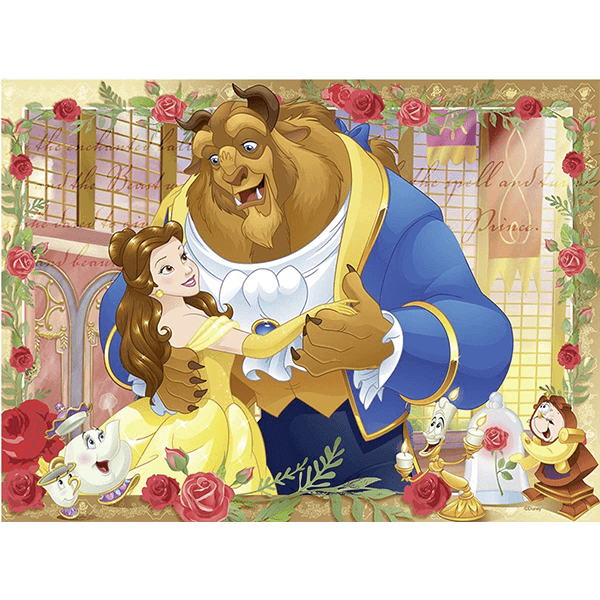Ravensburger Belle & the Beast 100 Piece Puzzle