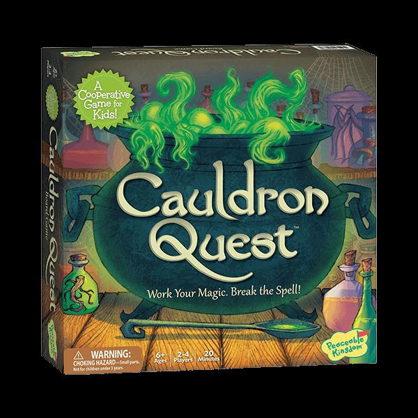 Peaceable Kingdom Cauldron Quest Game