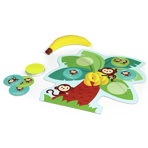 Peaceable Kingdom Monkey Around Time for Two Game