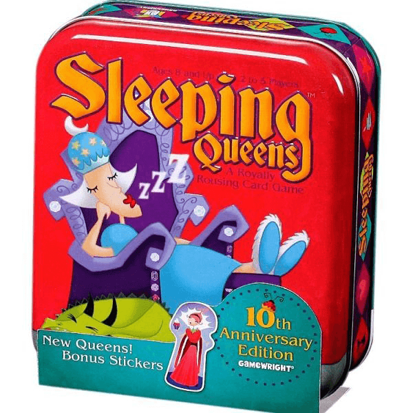 Gamewright Sleeping Queens 10th Anniversary Tin Card Game