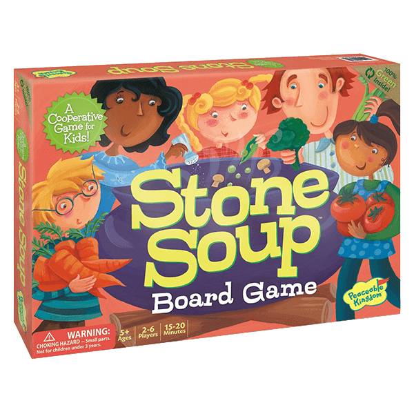 Peaceable Kingdom Stone Soup Board Game