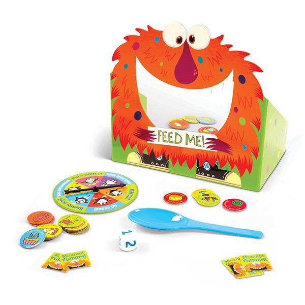 Peaceable Kingdom Feed the Woozle Preschool Game